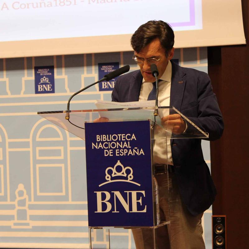 2017 Alberto Durán lee a Emilia Pardo Bazán