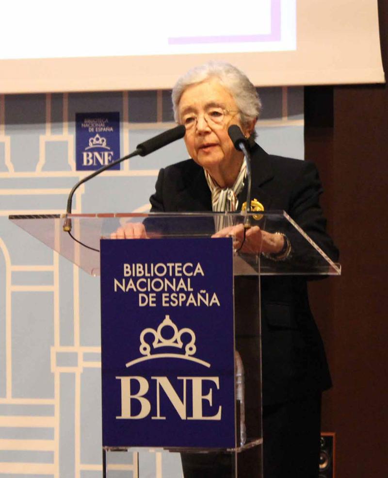 2017 Elisa Ruiz lee a Elena Fortún