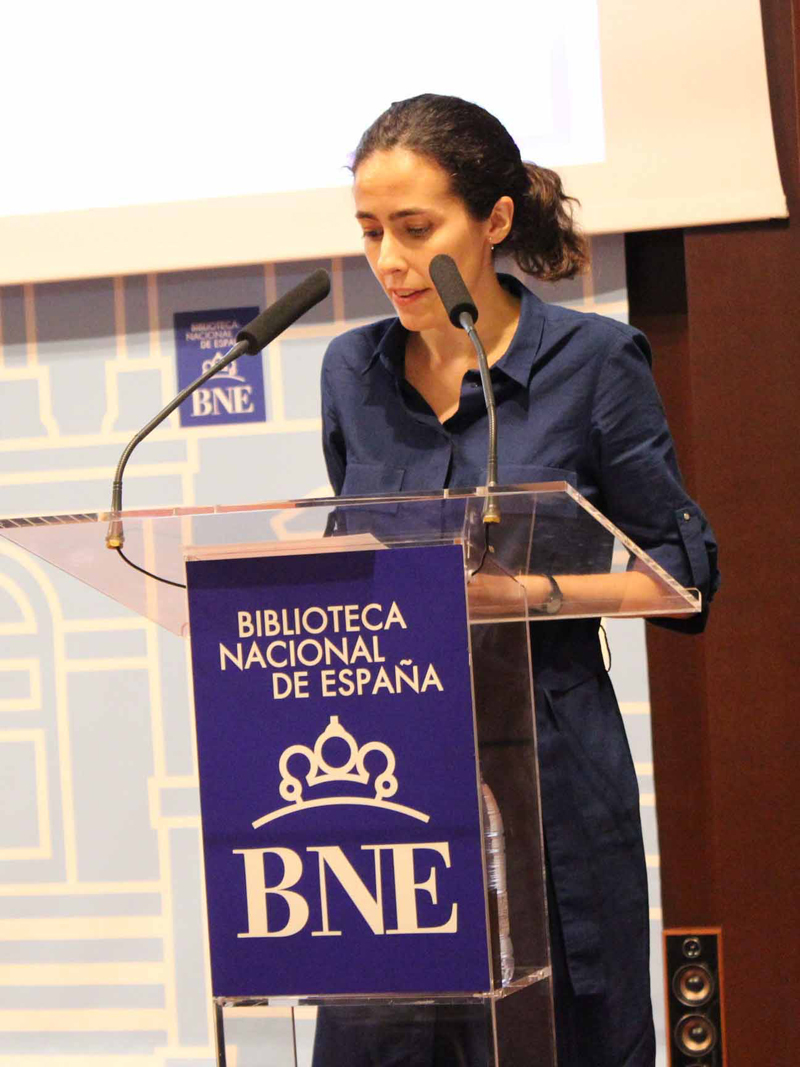 2017 María Márquez lee a Elena Soriano
