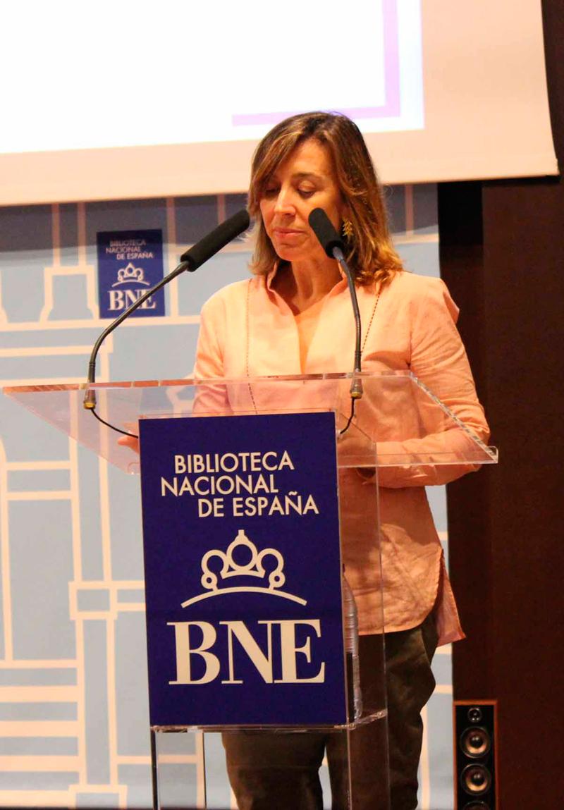 2017 Elvira Marco lee a Elena Garro