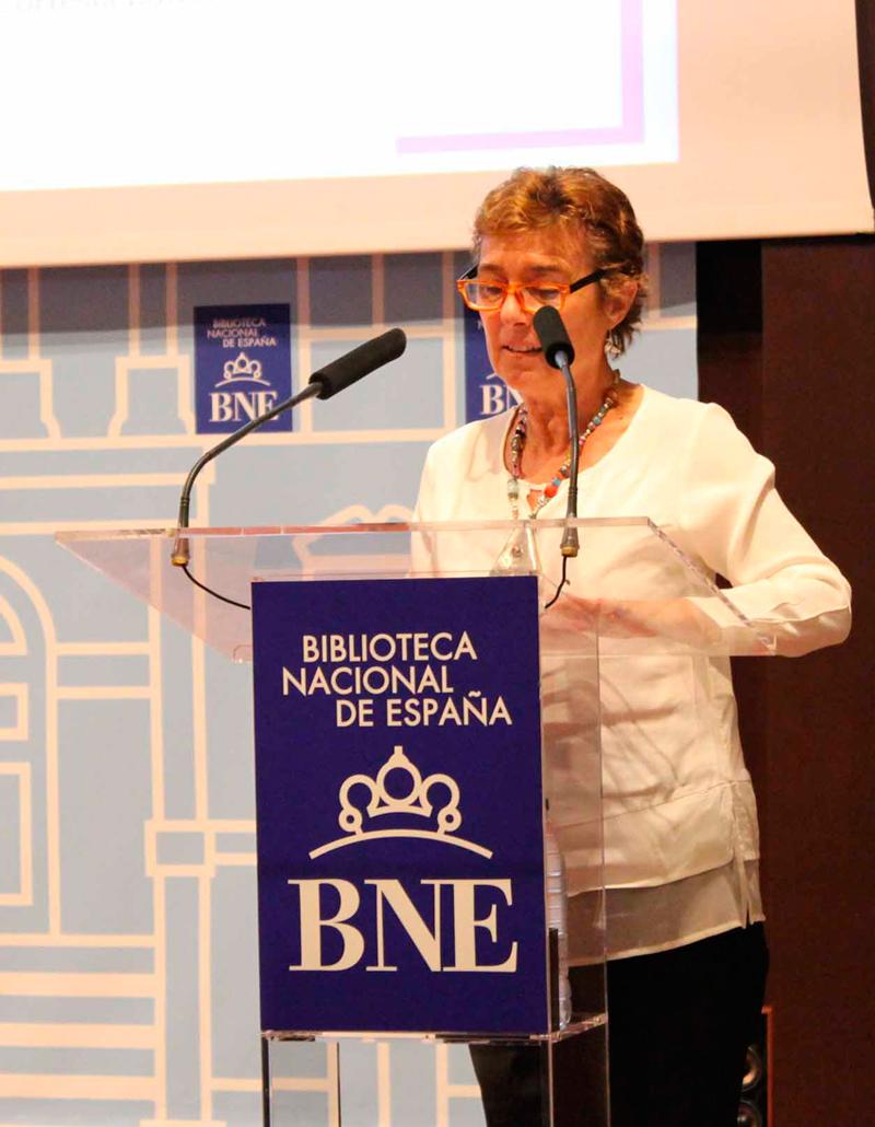 2017 Pilar Tejera lee a Carmen Martín Gaite