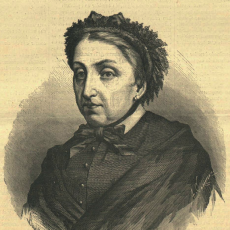 Fernán Caballero. Cecilia Bohl de Faber (Imagen: Tomada de La Ilustración Católica. Madrid 7 de abril de 1880. Número 37 / Fondos BNE)