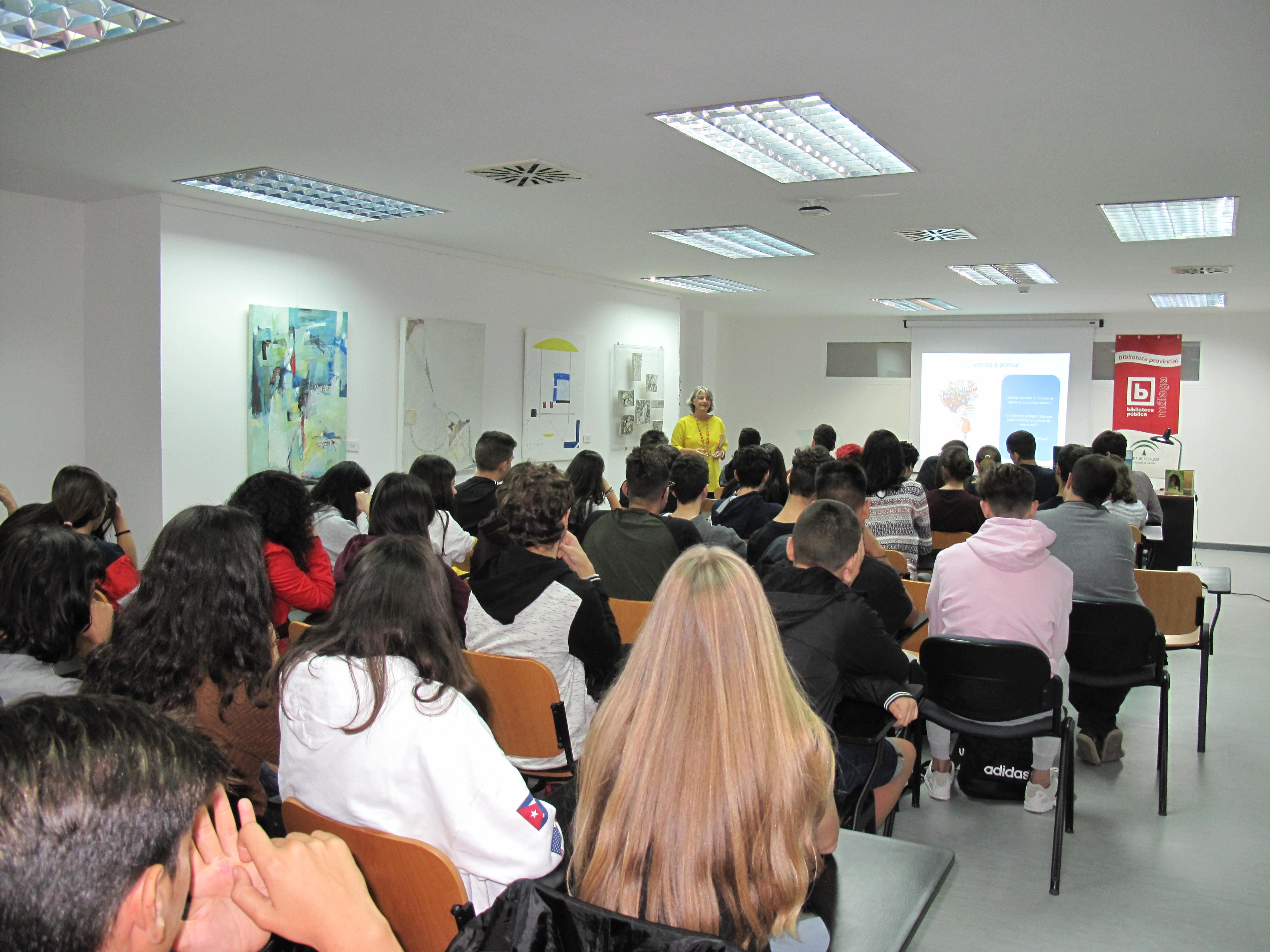 2018 Biblioteca Provincial de Málaga