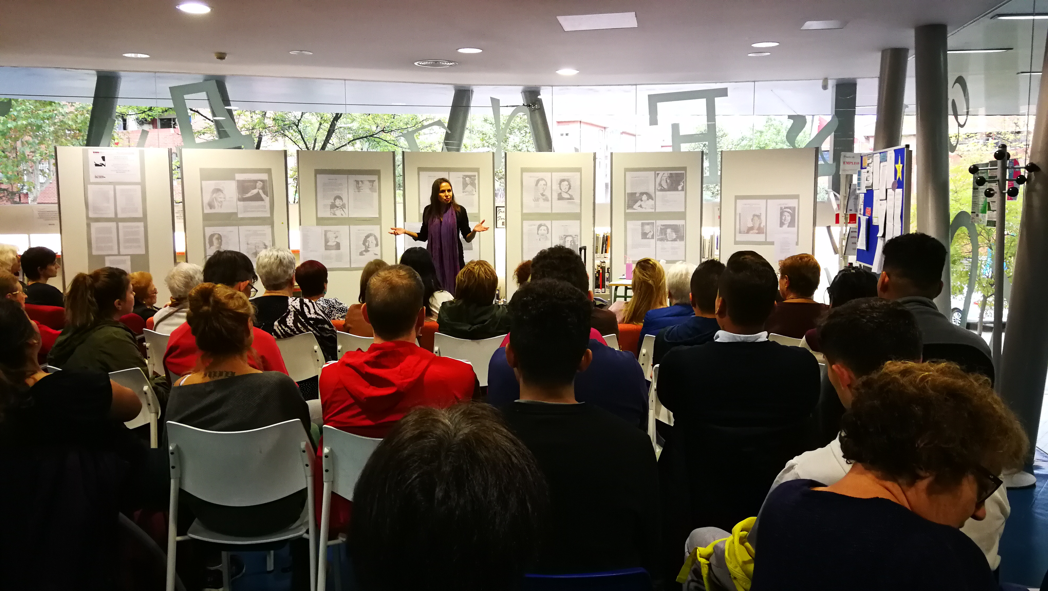 2018 Biblioteca de Vallecas, Madrid