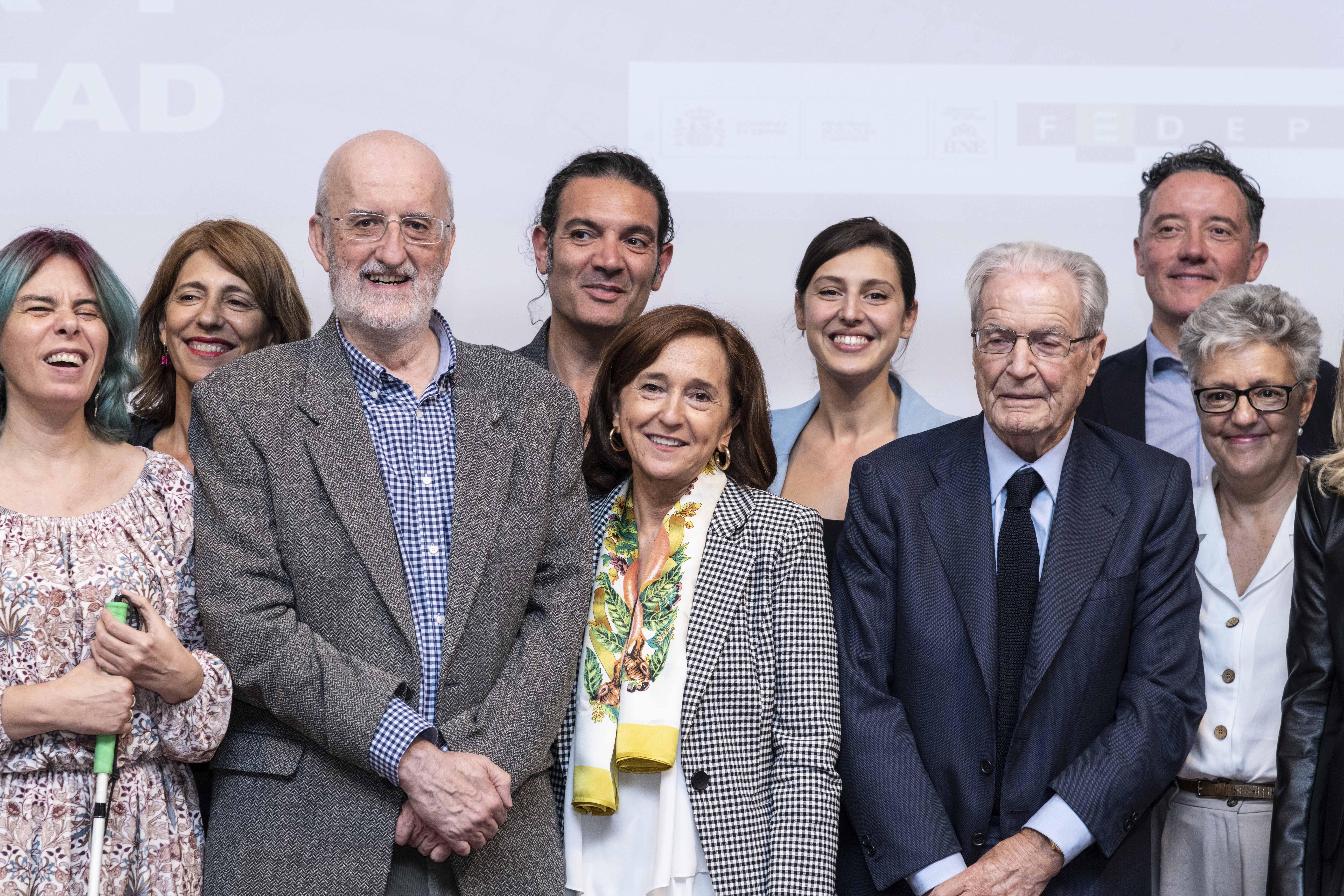 2019 Virginia Carcedo, Gabriela Flores, Joaquín Garrido, Antonio Sansano, Ana Santos, Raquel Varela, Antonio Garrigues, Ángel Martínez y Anna Caballé