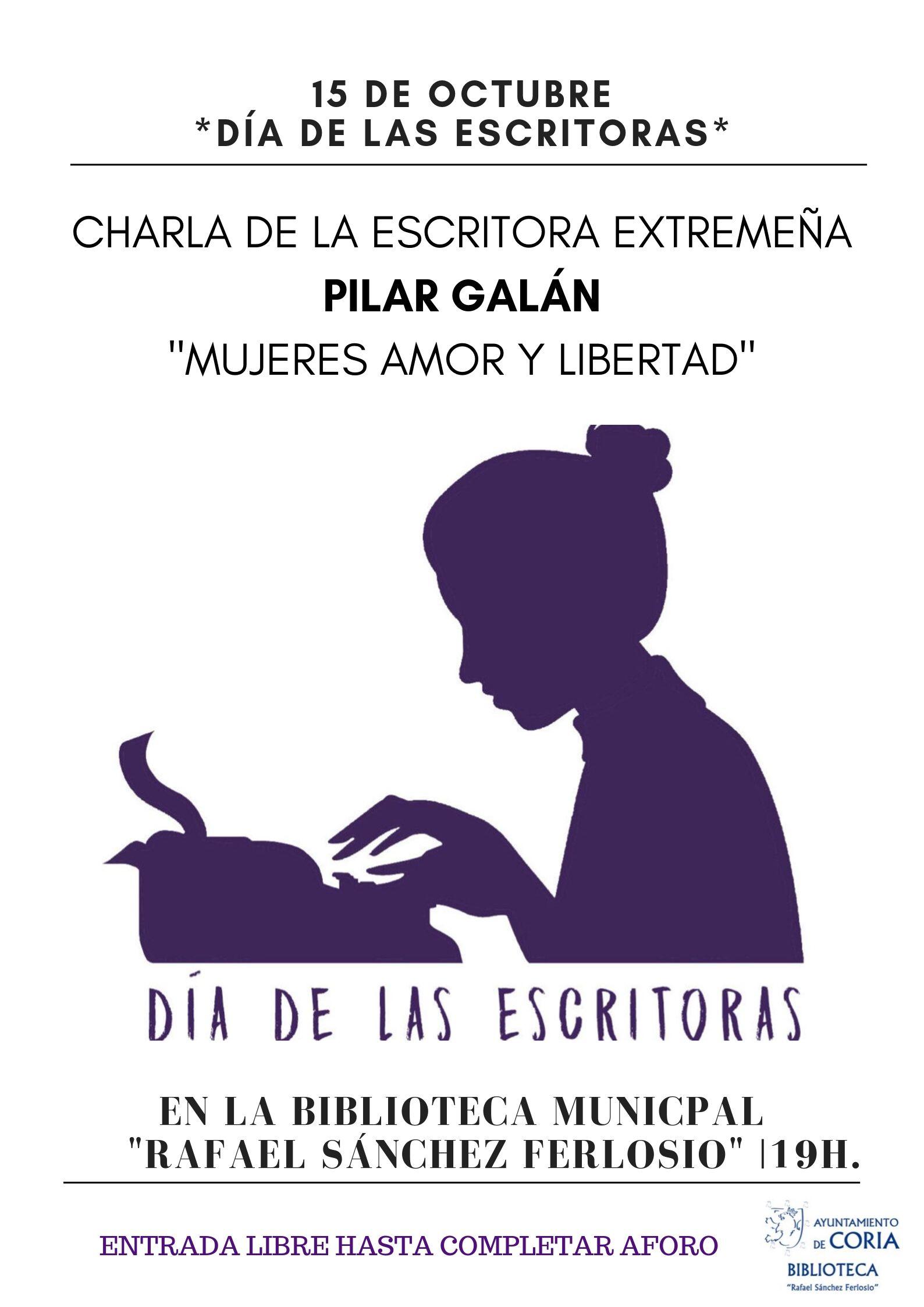 2019 Cartel de la Biblioteca Municipal Ferlosio (Coria - Cáceres)