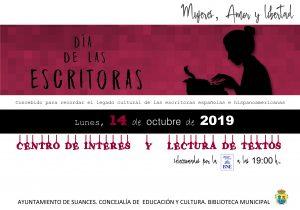 Cartel Biblioteca Municipal de Suances (Cantabria)