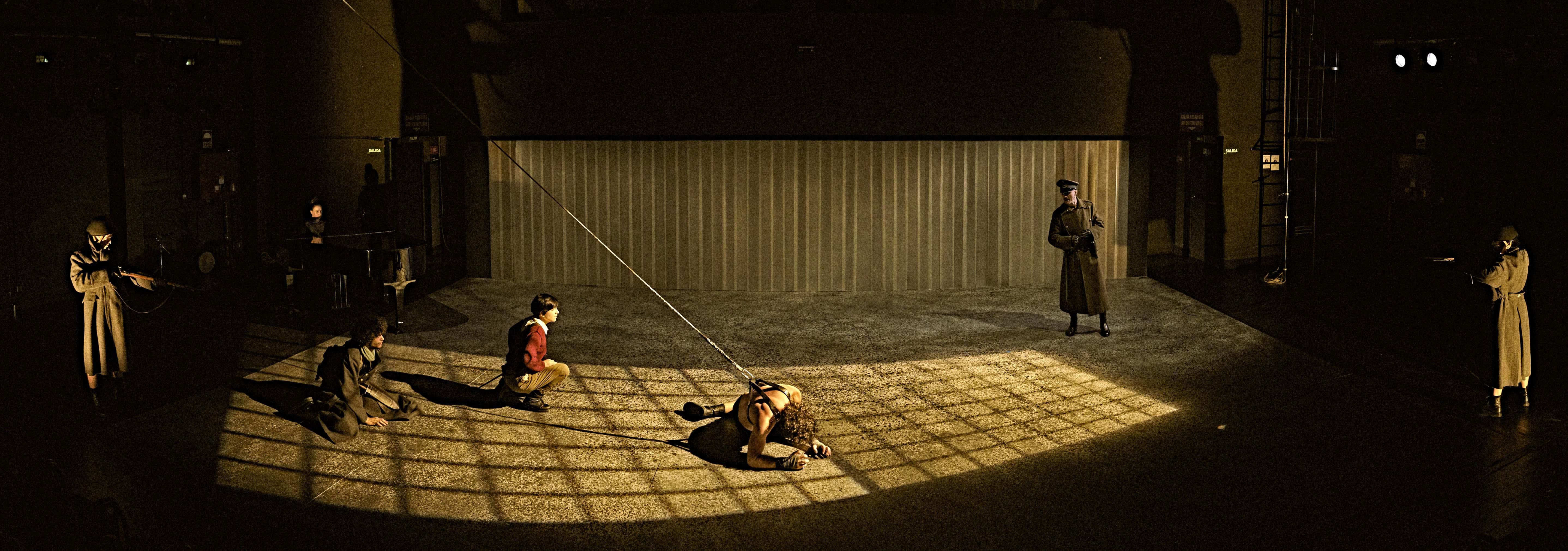 Fotografía de Sergio Parra (Compañía del Teatro Clásico)