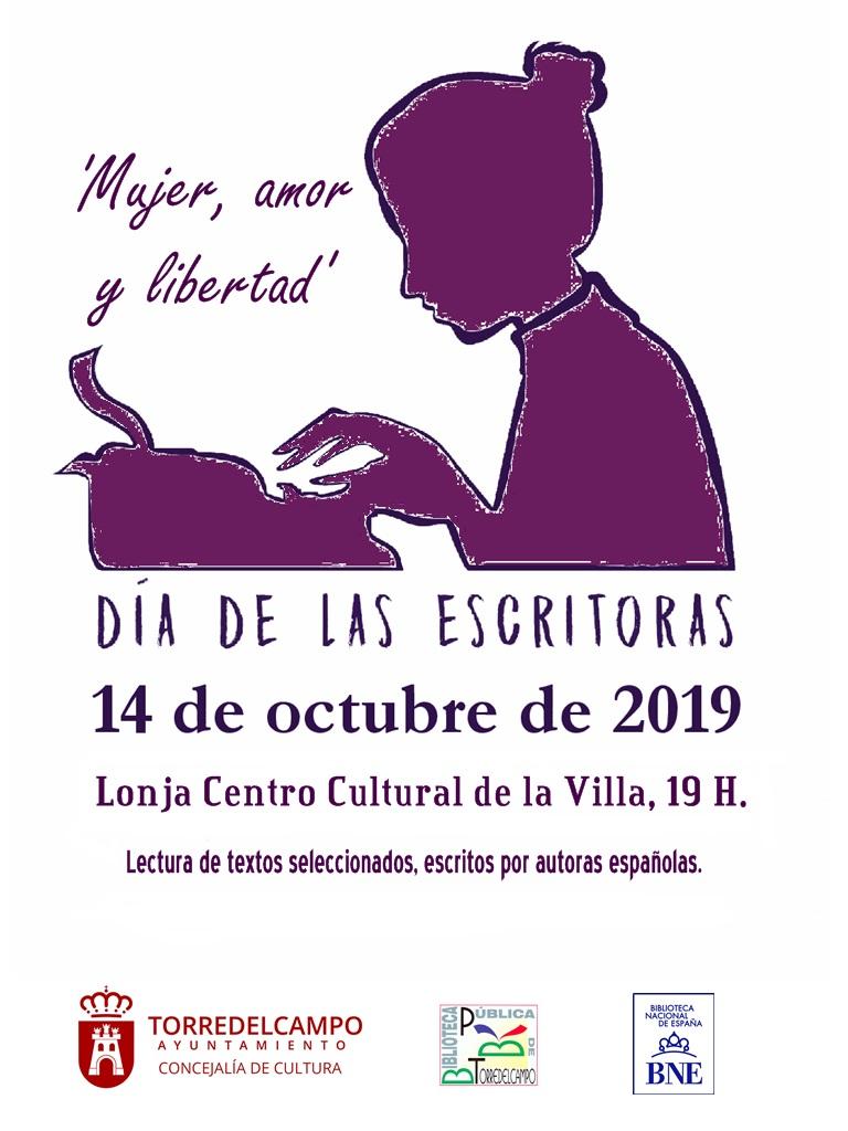 2019 Cartel de la Biblioteca Pública Municipal de Torredelcampo (Jaén)