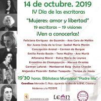 2019 Cartel Biblioteca Municipal Padre Isla (León)