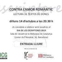 2019 Cartel del Observatorio Cultural de Género de Cataluña